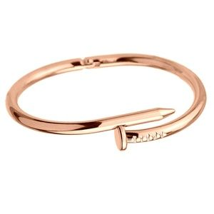 Jewelry - RG_NAIL BENDING LOVE CUFF ROSE GOLD